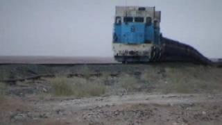 Mauretanien Berge und der längste Zug der Welt