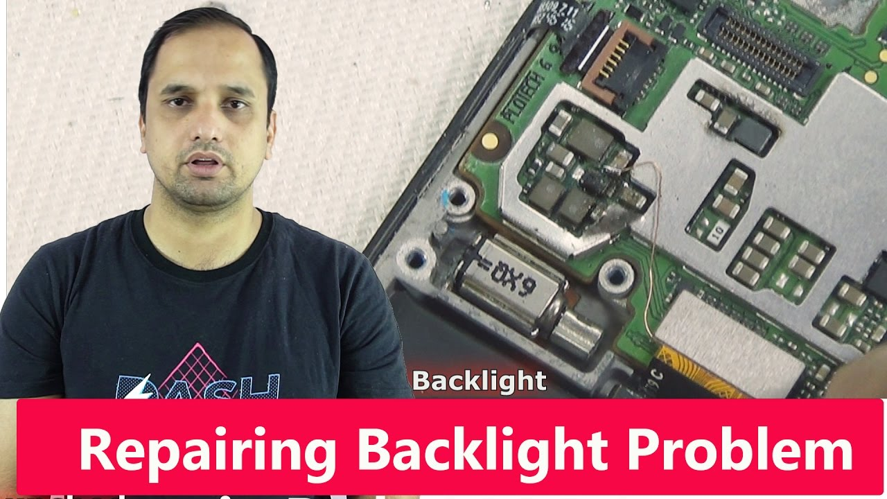 Repairing Waterdamaged Redmi 3S: Backlight Problem and Track Damaged