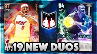 19 NEW DYNAMIC DUOS FOR SEASON 5 IN NBA 2K21 MyTEAM!! | GALAXY OPAL DUOS BUT THEY'RE AWFUL!!