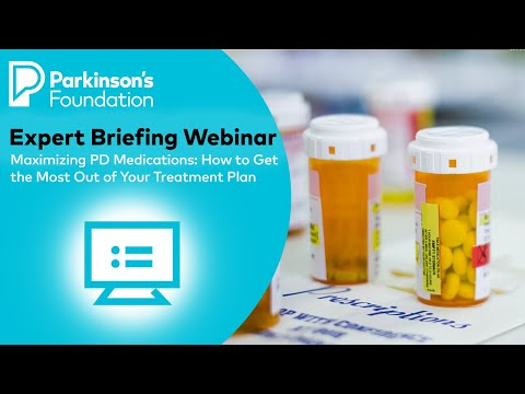 Expert Briefing Webinar: Maximizing PD Medications: How to Get the Most Out of Your Treatment Plan