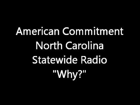 """Why?"" - North Carolina Statewide Radio"