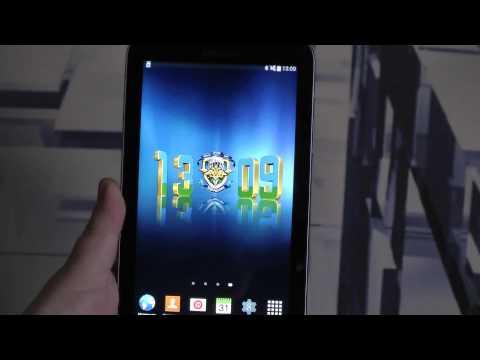 ВДВ цифровые часы, живые обои для ОС Андроид