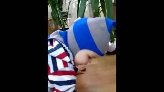 Зимние шлем шапка (БИЗИ-BEEZY)(шапка детская сине василькового цвета, идеально сидит на голове ребенка. Шапка утеплена и изготовлена из..., 2014-10-12T15:14:09.000Z)