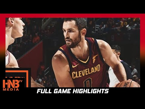 Thumbnail: Cleveland Cavaliers vs Chicago Bulls Full Game Highlights / Week 2 / 2017 NBA Season