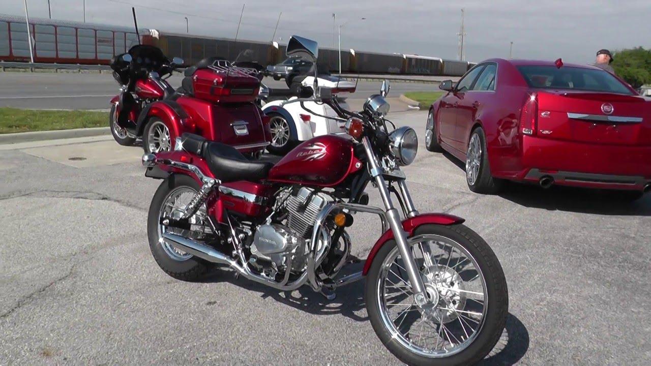 601957 2012 honda rebel 250 cmx250c used motorcycle for sale youtube. Black Bedroom Furniture Sets. Home Design Ideas