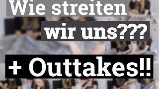 Wie wir uns streiten + Outtakes!! I Finja and Svea