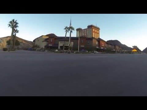 Passing Hoover Dam Lodge on U.S. Route 93 South, Boulder City, Nevada, 19 December 2015 GP010052