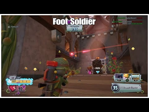 Plants Vs Zombies Garden Warfare 2 - Foot Soldier