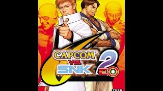 Capcom vs. SNK 2 EO (Nintendo GameCube)