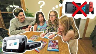 Am I the worst brother for getting them a Wii U instead of the Switch?? (REACTION!)