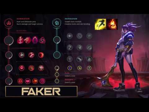 SKT Faker Build Akali - New Runes Season 9 solo vs LeBlanc (League of  Legends Guide)   Sắt Đoàn
