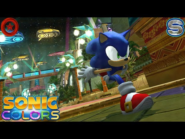 Sonic Colors (Wii) [4K] - Tropical Resort Act 1-6 (All Red Rings + S-Ranks)