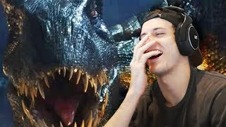 *Try Not To Laugh Challenge* JURASSIC WORLD VERSION