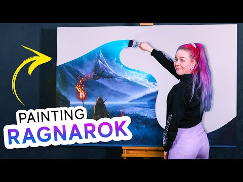Painting my Most Ambitious Painting Yet!
