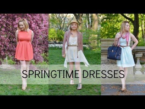 SPRING LOOKBOOK | Cute, Girly & Flirty Dresses