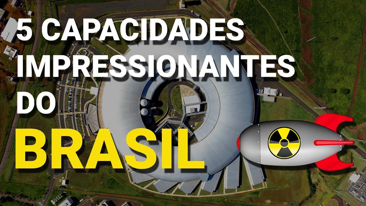 5 capacidades impressionantes que o Brasil possui e você não sabia