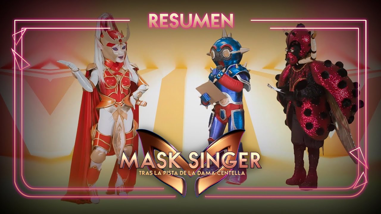 Lo que sabemos de la Dama Centella   Resumen 4   Mask Singer: Tras la pista de la Dama Centella