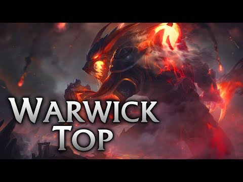Reworked Firefang Warwick Top - League of Legends Commentary