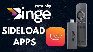 Tata Sky Binge - Install Apps (Sideload) On Fire TV (Tutorial)