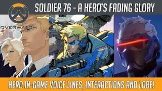 Overwatch - Soldier 76 - A Hero