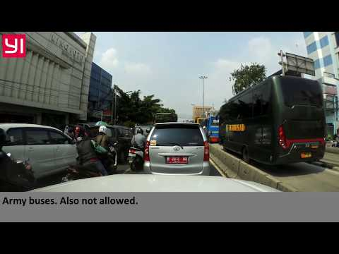 Indonesia bad driving compilation, June 2017 [2]