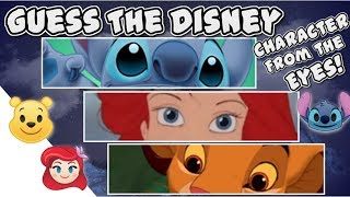 Guess The Disney Character From The Eyes!