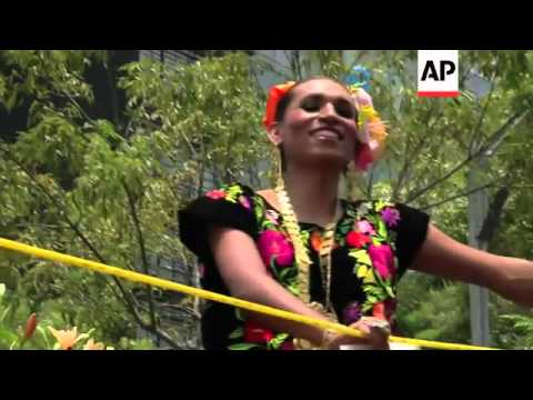 Thousands take part in Gay Pride parade in Mexico
