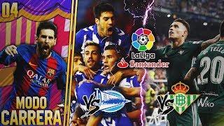 FIFA 18   MODO CARRERA - FC BARCELONA   ¡ARRANCAMOS CON LALIGA SANTANDER! #04