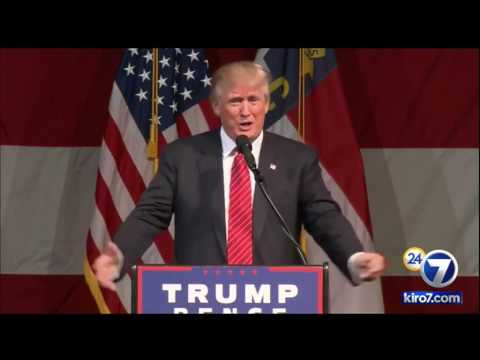 FULL SPEECH: Donald Trump in Fayetteville, North Carolina. August 9, 2016