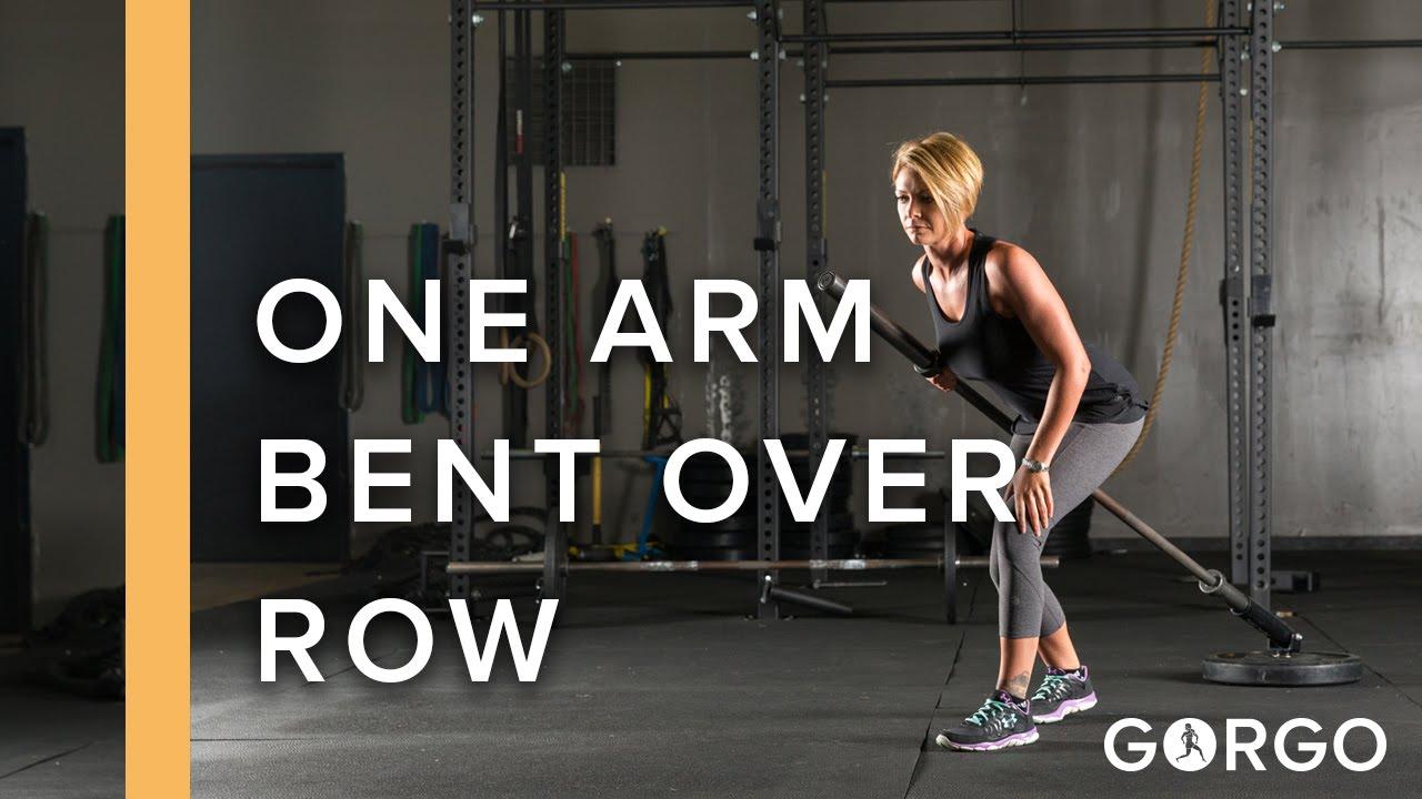 One Arm Bent Over Row - YouTube  One Arm Bent Ov...