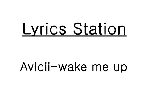Avicii - Wake Me Up [Lyrics-가사(해석)]