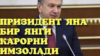 ЯНГИ КАРОР ХАММА КУРСИН ЯНА БИР КУЛАЙЛИК