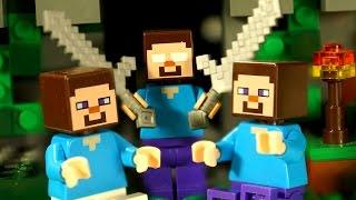 НУБ Против ХИРОБРИНА - Мультфильм Лего Майнкрафт - Мультики Лего Lego Minecraft Animation