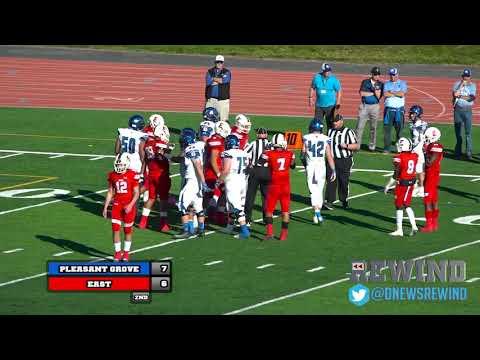 Deseret News Rewind - Pleasant Grove @ East (Football) {10-26-18}