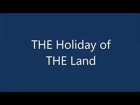 Rejuvenation:THE Holiday of THE Land