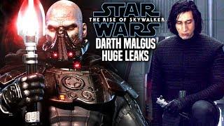 The Rise Of Skywalker Darth Malgus Big Secrets Leaked! (Star Wars Episode 9)