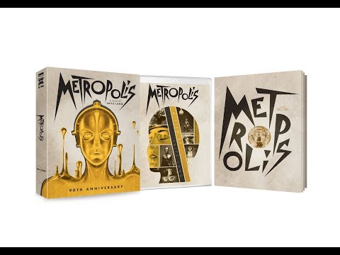 Fritz Lang's silent, sci-fi masterpiece: METROPOLIS 90th Anniversary Limited Edition Boxed Set