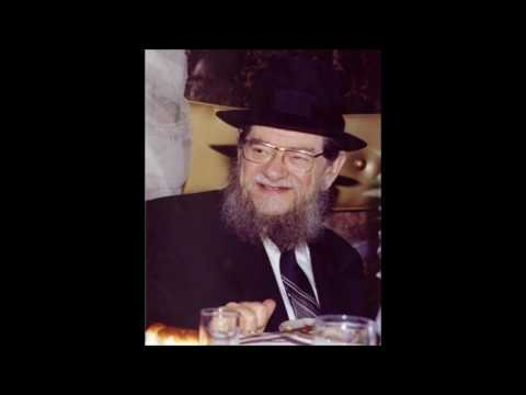 Rav Gifter Talks About Jews Meeting With Pope