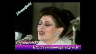 Warda in kuwait 1979 لما صحيت على حبك - YouTube.flv