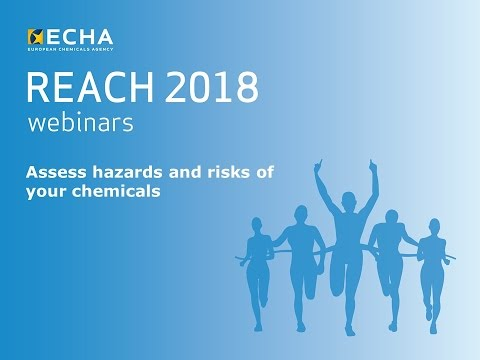 REACH 2018: Assess hazards and risks of your chemicals