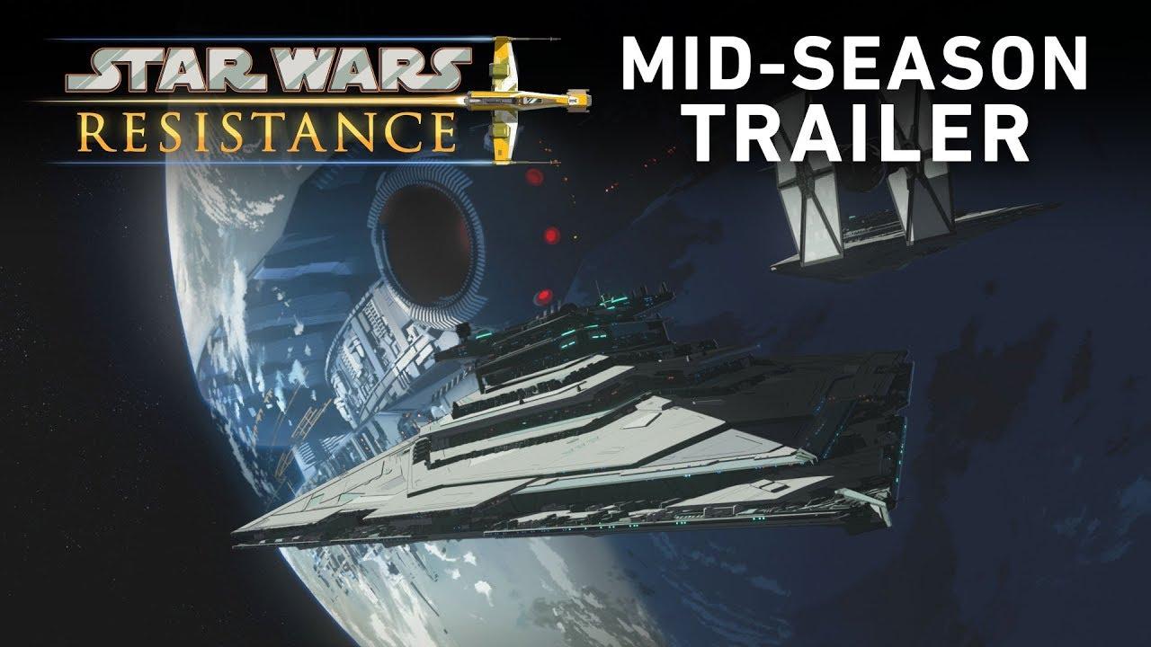 Star Wars Resistance Season 1 - Mid-Season Trailer (Official) #1