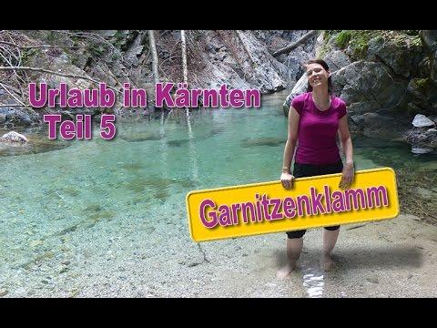 Urlaub in Kärnten, Österreich - # 5 - Garnitzenklamm