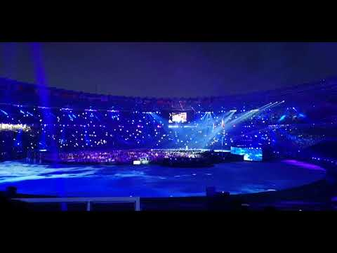 Isyana Sarasvati - Asia's Who We Are (Closing Ceremony Asian Games 2018)