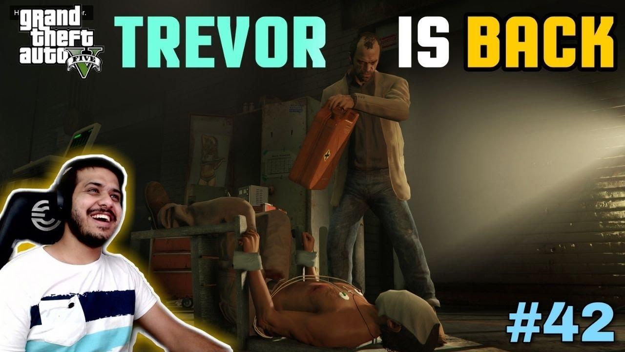 TREVOR TAKING REVENGE FROM LADY MAFIA | GTA V GAMEPLAY #42
