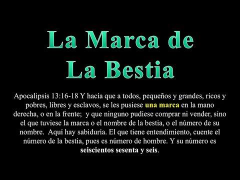 La marca de la bestia 666 - Luis Bravo
