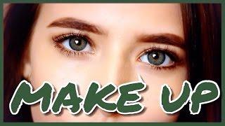 видео макияж для зеленых глаз
