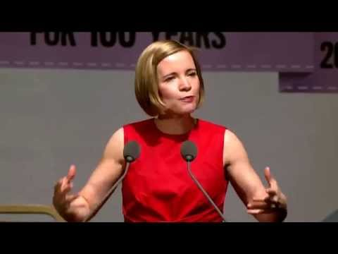 Lucy Worsley - Centenary Annual Meeting 2015