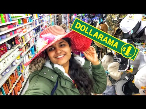 The Cheapest Store In CANADA - DOLLARAMA #KeerthiVlogs