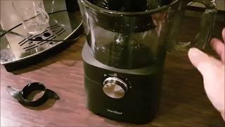 VonShef 750W Küchenmaschine Multifunktions-Standmixer Mixer Küche