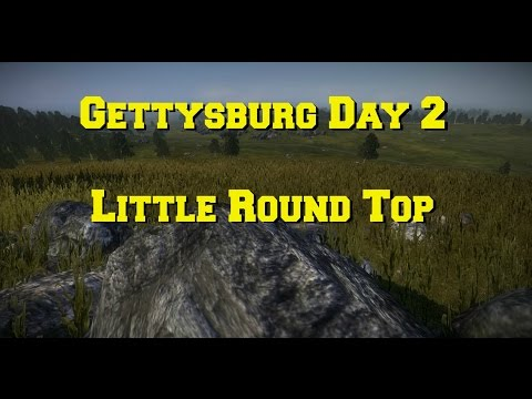 Napoleon total war: Gettysburg Day 2 Little Round Top